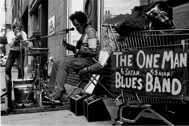 Busking: a blues harmonica player's guide